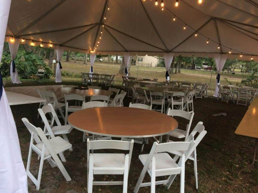 Wedding Tent Rentals Near Me