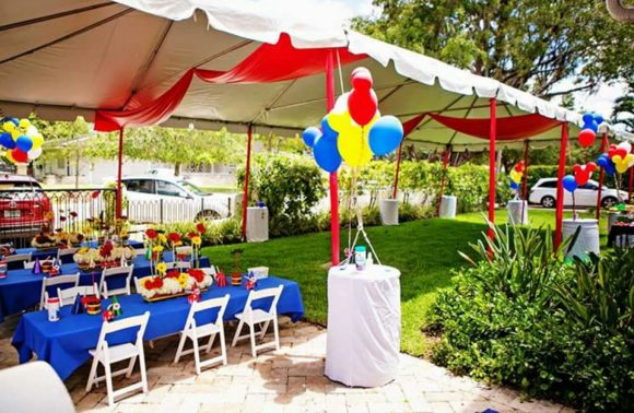 Outdoor Party Rental Ideas