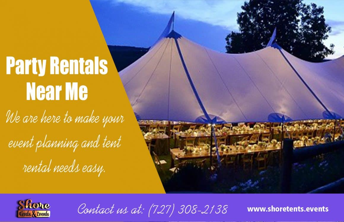 Party Rentals Near Me