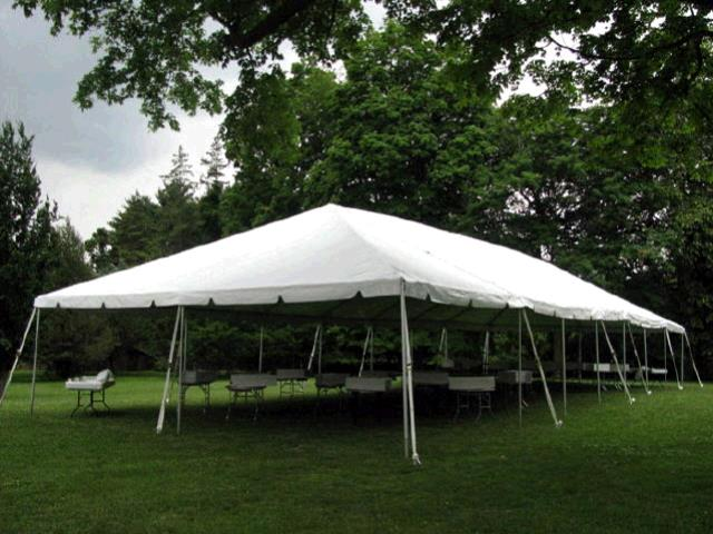 30x75 Frame Tent